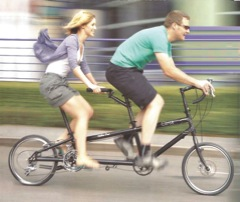 Bikes You Lay Back On A tandem or load bike can help